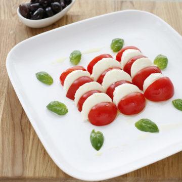Tomat och mozzarellasallad