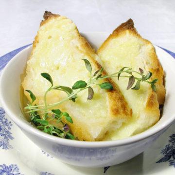 fransk löksoppa