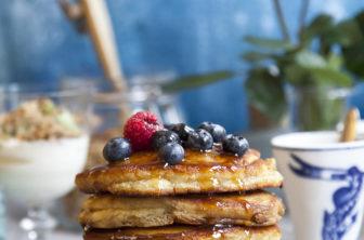american pancakes, amerikanska pannkakor