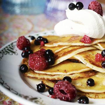 american pancakes utan ägg