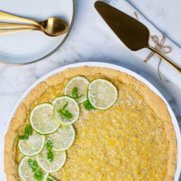 Glutenfri ananaspaj