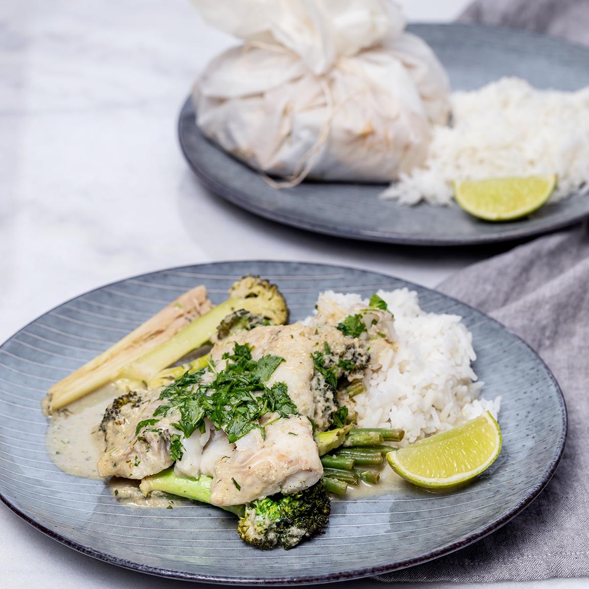 Asiatiska fiskpaket