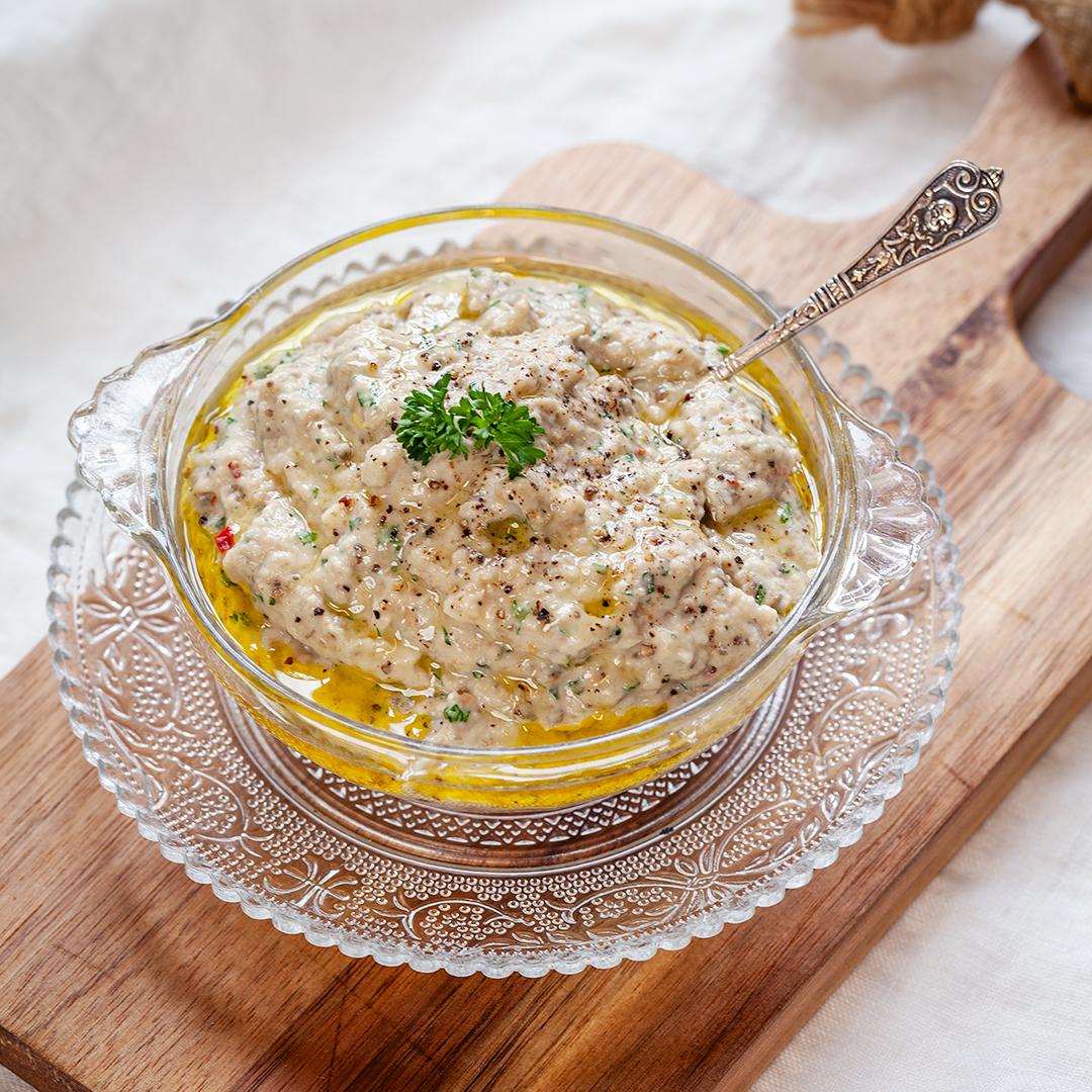 Baba ganoush och auberginröra