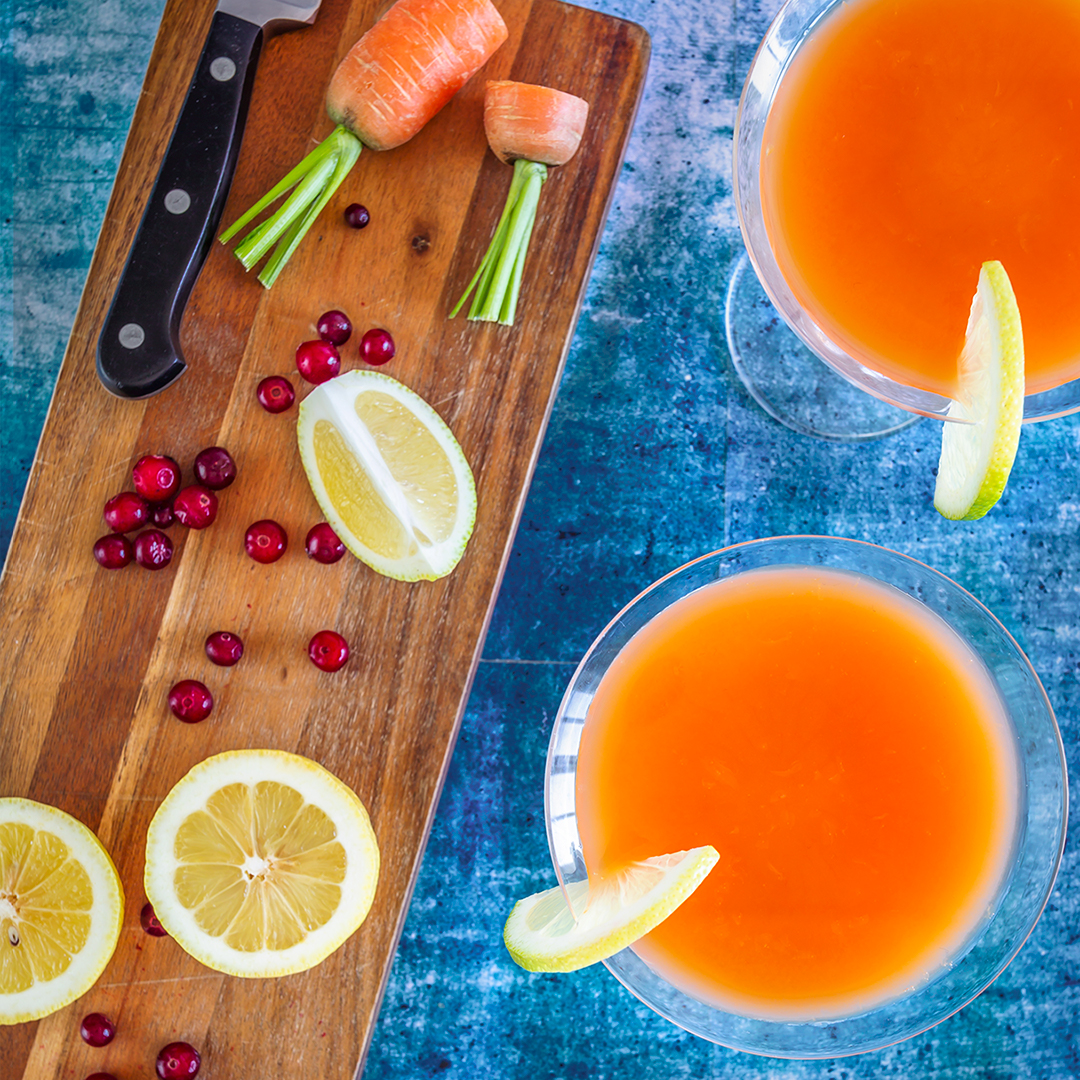 Carrot cranberrydrink