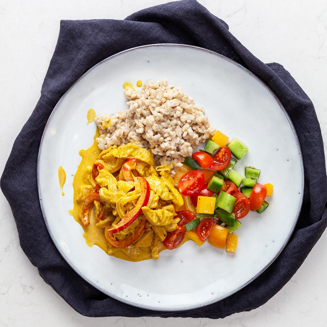 Curry no chicken