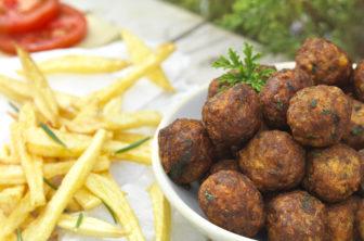 Cypriotiska små köttbullar