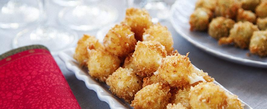 friterad minimozzarella