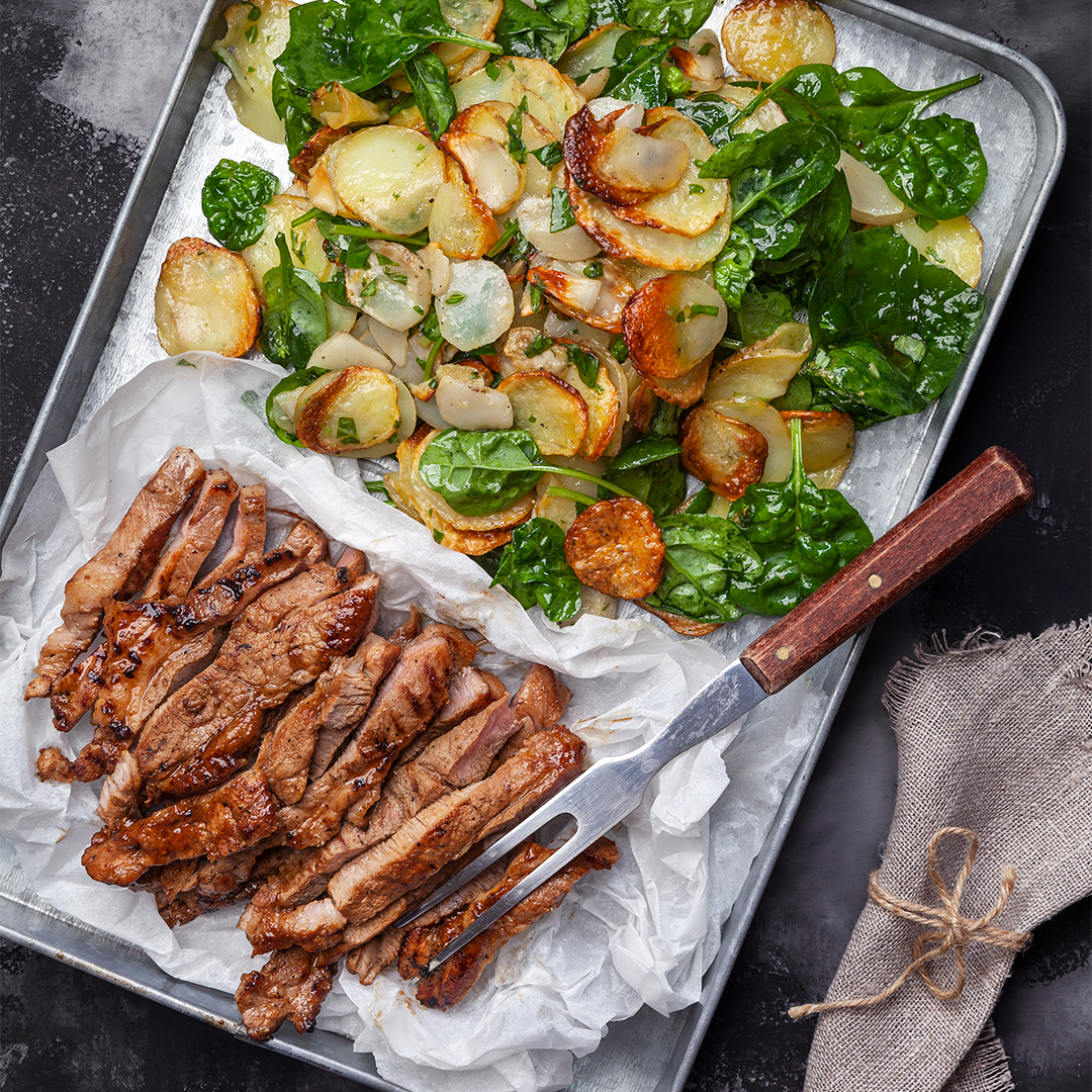 grillad fläskkarré recept