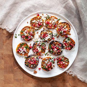 Grillad sötpotatis