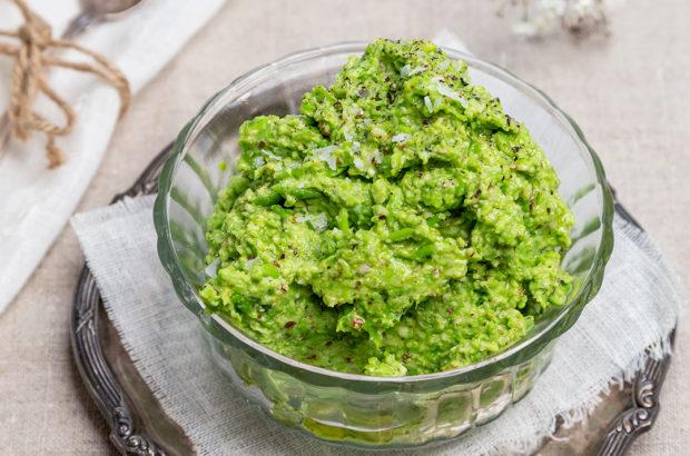 grön ärtdipp
