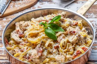 kycklingpasta pasta med kyckling recept