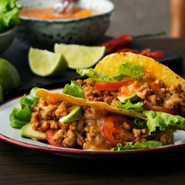 kyckling tacos recept