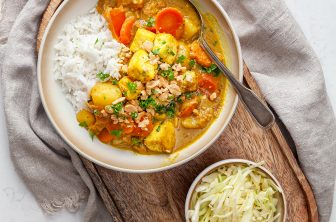 Massaman curry med tofu