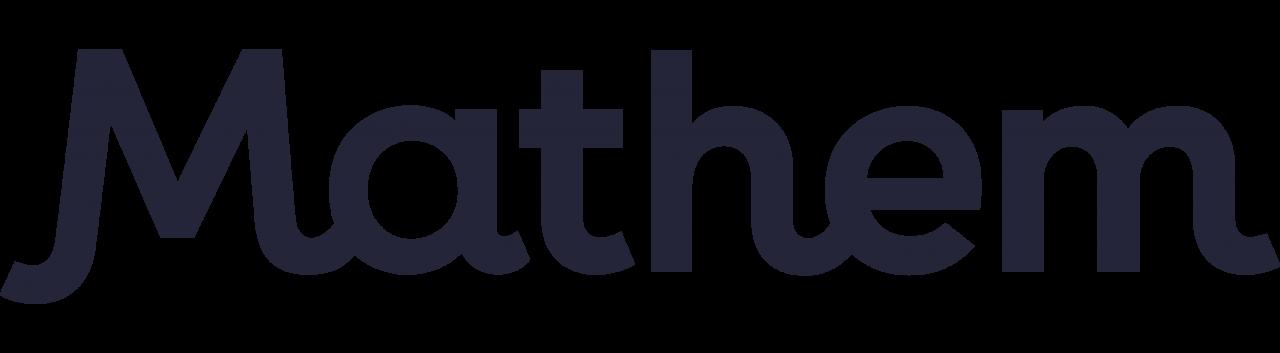 Mathem logo logga version 1