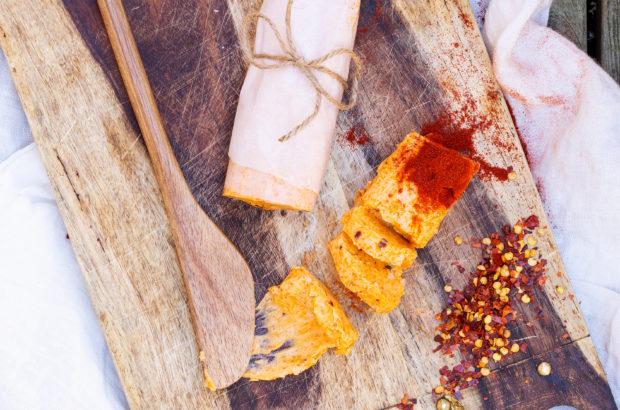 rökt paprika- och chilismör