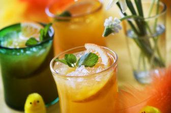 drink, cocktail, påsk, gula drinkar