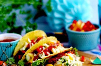 Tacos med köttfärs
