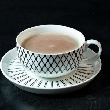 varm choklad vatten recept