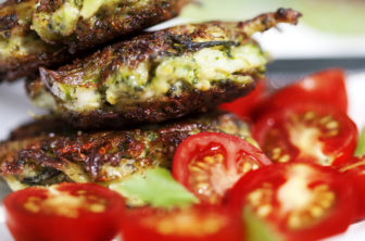 Broccolifritters med parmesan