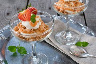 jordgubbscheesecake