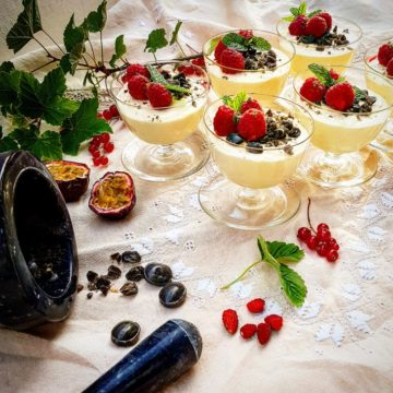 lakrits dessert recept