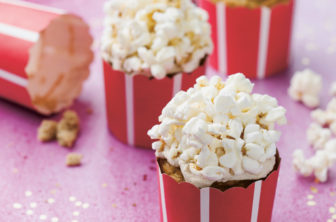 cupcakes med popcorn