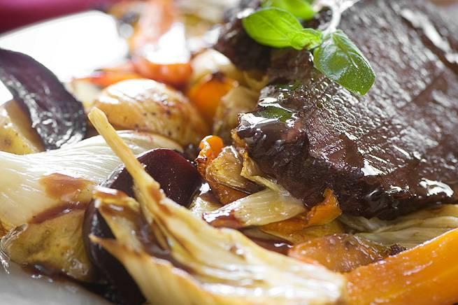 Stek bourguignon