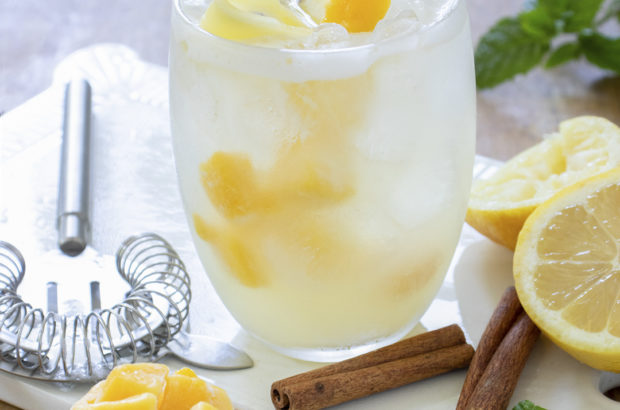 mango cinnamon bliss cocktail