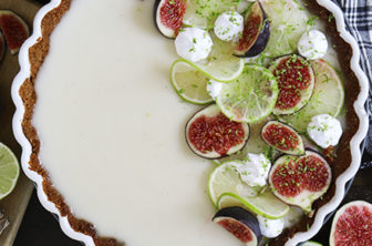 vegansk key lime pie